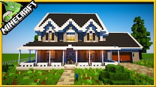 Minecraft speedbuild of a country house with tips and tricks so you can learn how to build a house in minecraft. The build team