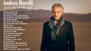 Andrea Bocelli Greatest Hits  The Best Of Andrea Bocelli