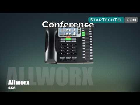 how-to-make-a-conference-call-on-the-allworx-9224-phone