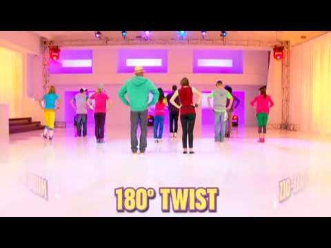 Hannah Montana The Movie  Hoedown Throwdown Dance Moves