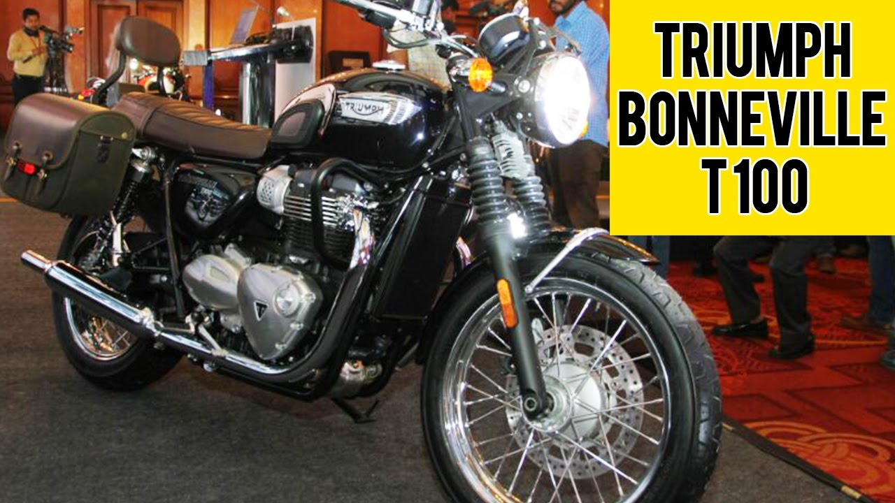 New Triumph Bonneville T100 Launched In India 2016 Youtube
