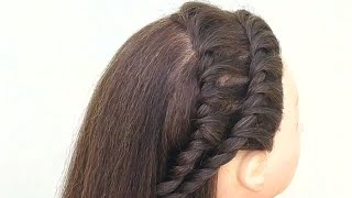 Simple Hairstyle For Party || Simple Party Hairstyles