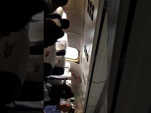 Dana Airlines emergency exit door flew open before landing