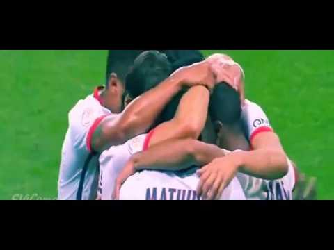 Di María vio desde la platea el triunfo del PSG