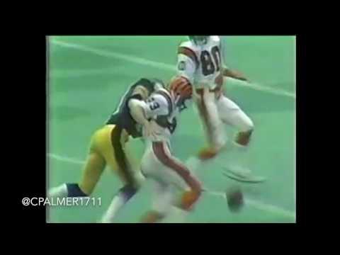 Ken Anderson vs Steelers 1981