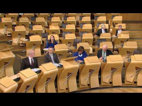 Scottish Budget - Scottish Parliament: 25th January 2017