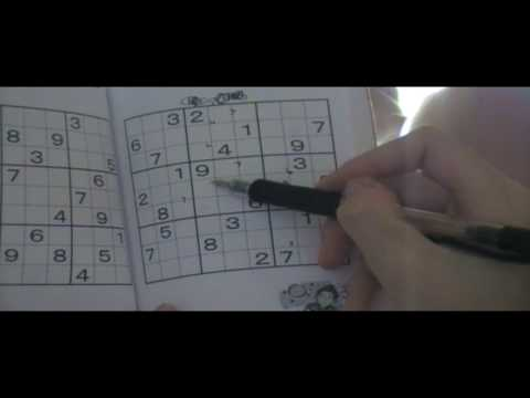 1 How to do a Very Hard Sudoku easily Part1 by Tiffany