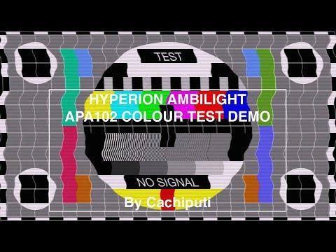 Ambilight Hyperion APA102 Raspberry Pi 3 LibreElec - Kodimania