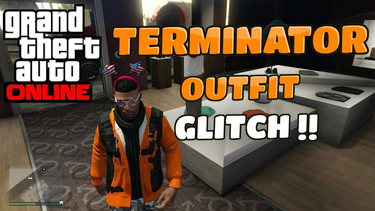 GTA 5 Online Clothing Glitch - Rare Look-A-Like Robot Outfit! (After Patch 1.26/1.29/All ...