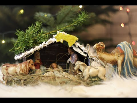Jak zrobić bożonarodzeniową szopkę z masy solnej?