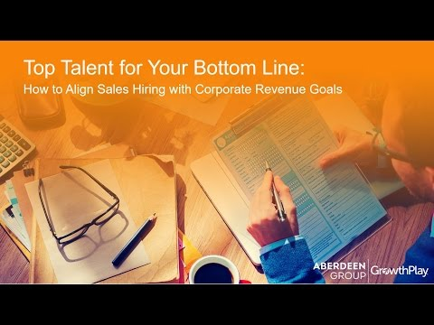 Top Talent for Your Bottom Line Webinar