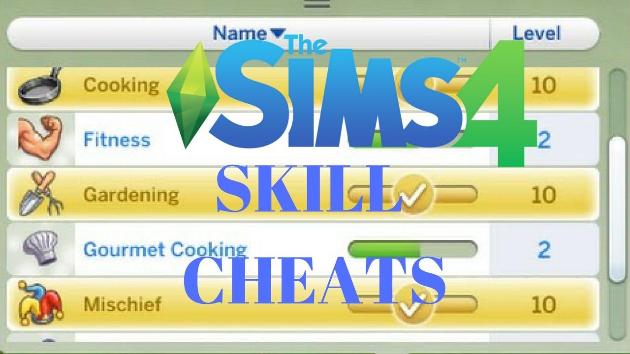 The Sims 4 Skill Cheats