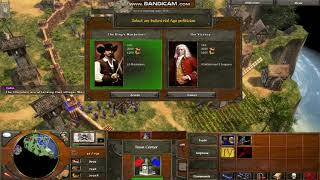 Age Of Empires 3 with cheat
