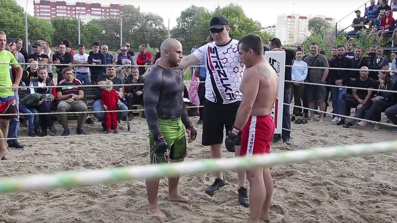 СТАРЫЙ САМБИСТ против БРЯНСКОГО МУЖИКА !!!