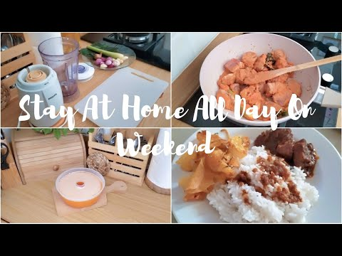 a-housewife-routine-|-stay-at-home-all-day-on-weekend