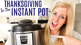 4 EASY Instant Pot Thanksgiving Recipes - Perfect for Beginners!