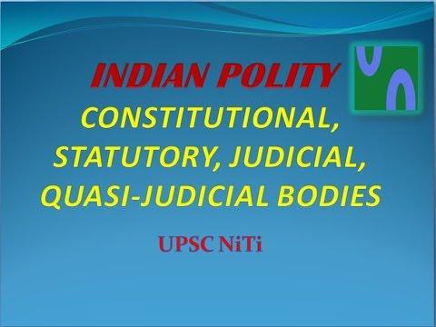 QUASI JUDICIAL BODIES IN INDIA PDF DOWNLOAD