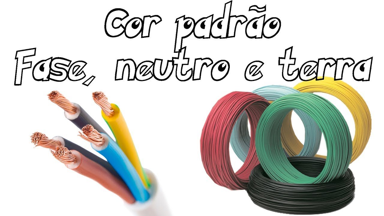 Cor padr o fase neutro e terra nbr 5410 youtube for Fase e neutro colori