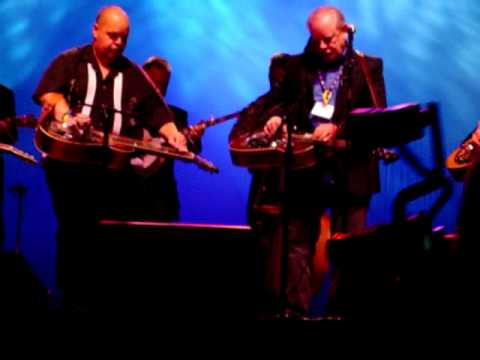 IBMA FanFest 2006 - Foggy Mountain Rock by eight great dobroplayers