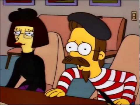 Image result for ned's parents simpsons