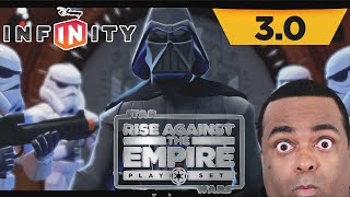 STAR WARS: Rise Against The Empire Play Set Gameplay [Disney Infinity 3.0] [Wii U]