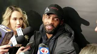 Kyrie Irving can't wait until the playoffs