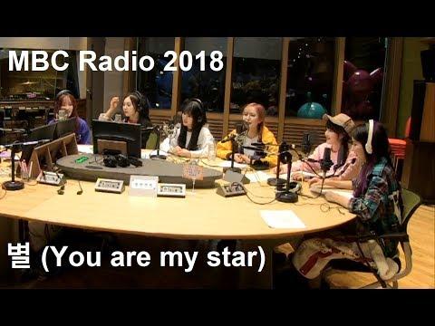 여자친구 (GFRIEND) - MBCRadio Live 별 (You Are My Star) HD