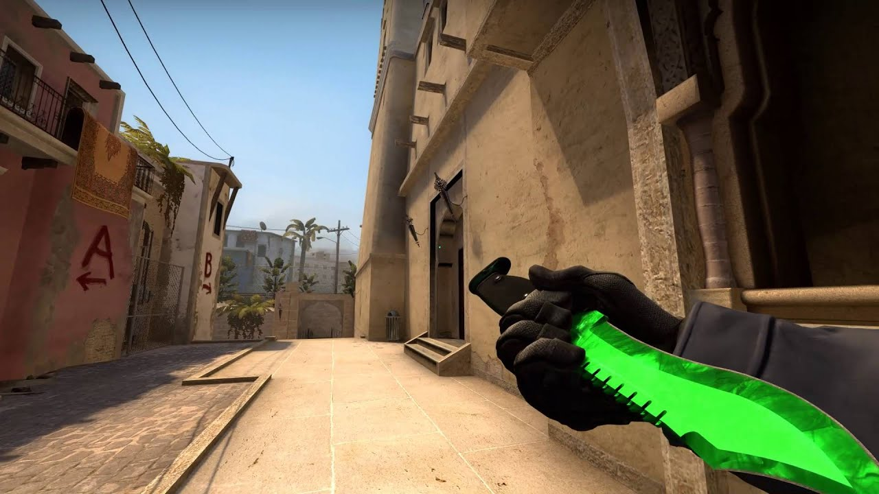Bowie Knife Doppler Emerald Factory New Cs Go Fantasy