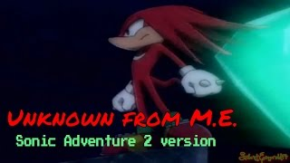 Knuckles the Echidna - Unknown from M.E. SA2 AMV