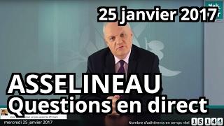 entretien en direct de franois asselineau sur facebook mercredi 25 janvier 2017
