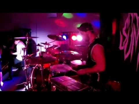 Arreat Summit - Flesh Quartet live@Örebro 20140913 drumcam