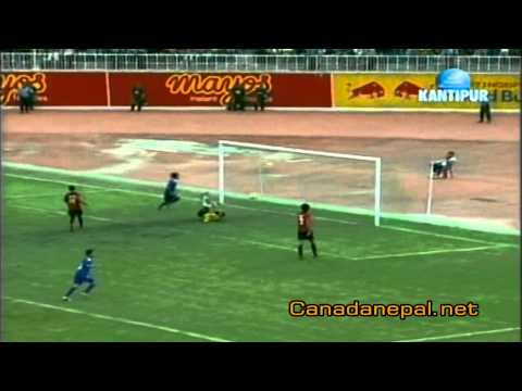 Nepal VS East Timor- Final Score  5:0