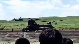 平成29年陸上自衛隊富士総合火力演習に行って来ました! 演習後段 輸送...