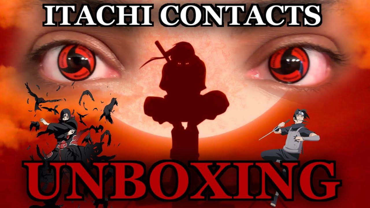 Itachi Sharingan Contacts Unboxing Youtube