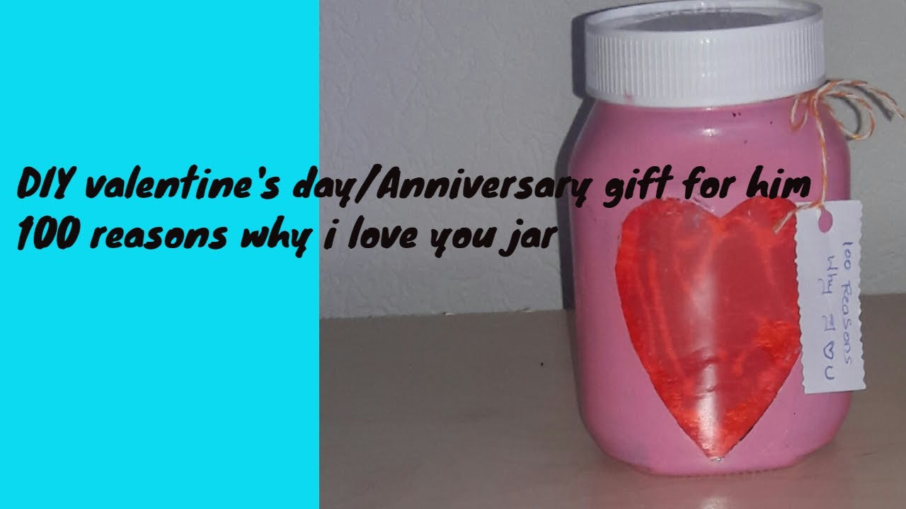 Diy Gift Ideas Love Jar Mason Jar Handmade Gift Valentine S Day Gift Anniversary Gift Gift For Him Youtube