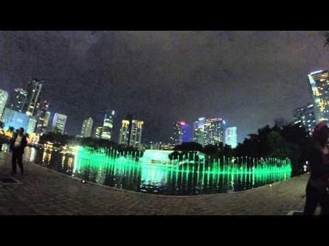 Dancing Fountain at KLCC Kuala Lumpur