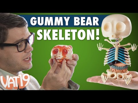 Gummy Bear Skeleton