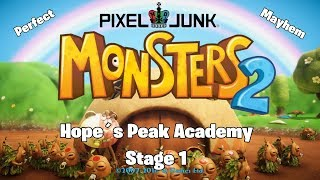 "PixelJunk MONSTERS 2 ""Hope´s Peak Academy Stage 1 (Mayhem Perfect)"""
