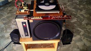 Tự chế máy nghe nhạc từ đầu DVD cũ