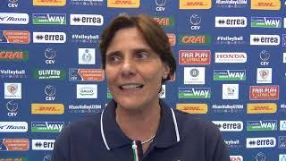 27-04-2018: Monica Cresta nel post Italia-Spagna U20M