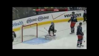 Calgary Flames goal Roman Cervenka