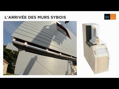 Arrivée des murs sybois - Maisons d'Intérieur Caen
