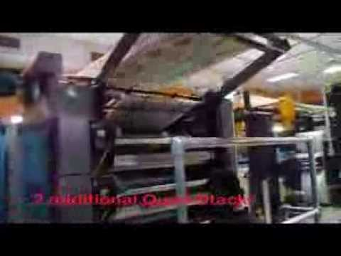 Quad Stack Printing Press - Coro Nuevo Dia