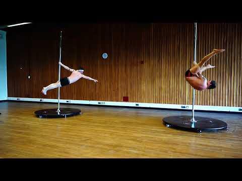 Welsh Pole Fitness Varsity 2018 - Doubles - Tom Cat and Jezza Lad