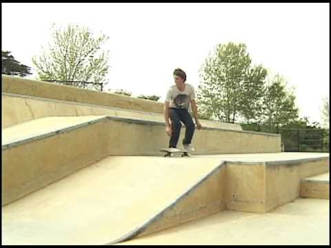 Daniel DeSanto shreds the Santa Cruz Skatepark