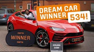 Winner! Week 27 2020 (29th June - 5th July) - Shibu Paul - Lamborghini Urus + £20k