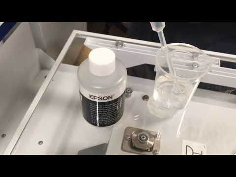 Cycling the Epson 2100 DTG Printer Part 1