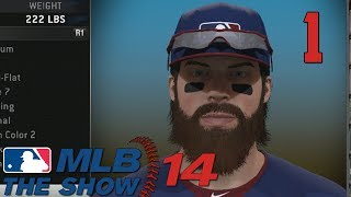 "MLB 14 The Show - Road to the Show - Part 1 ""The King is Reborn"" (Gameplay & Commentary)"