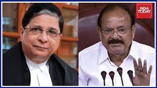 Vice Prez Venkaiah Naidu Rejects Opposition's CJI Impeachment Motion Against Dipak Mishra