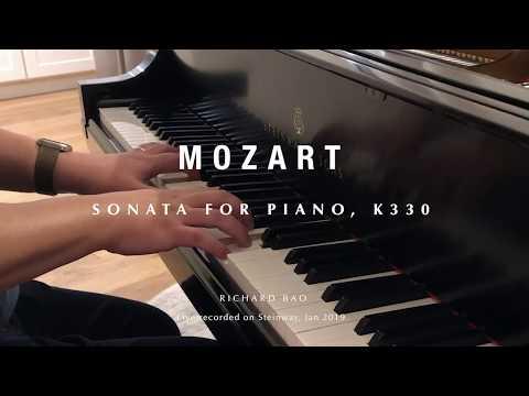 Mozart: Sonata For Piano K330 On Steinway